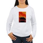 Sunset Women's Long Sleeve T-Shirt
