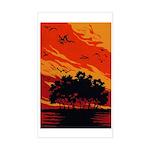 Sunset Rectangle Sticker