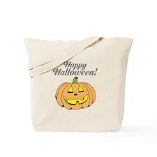 Trick Or Treat Kids Pumpkin Face Carving Tote Bag