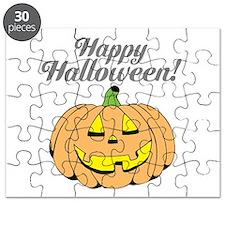 Jack o lantern pumpkin face carving Puzzle