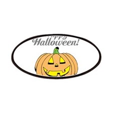 Jack o lantern pumpkin face carving Patches