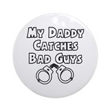 Bad Guys Color Me Ornament (Round)