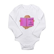 Cute Expecting pregnant pregnancy Long Sleeve Infant Bodysuit