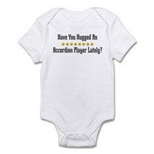 Hugged Accordion Player Infant Bodysuit