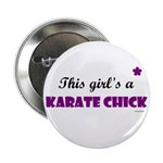 This Girl's A Karate Chick (Grape) 2.25