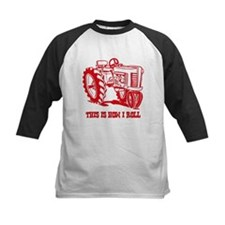 This Is How I Roll Tractor RED Tee