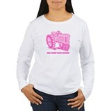 Real Women Drive Tractors T-Shirt