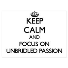 Keep Calm by focusing on Unbridled Pas Invitations