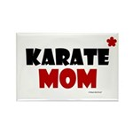 Karate Mom 1 (Cinnamon) Rectangle Magnet (10 pack)
