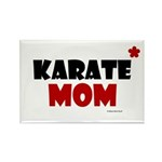 Karate Mom 1 (Cinnamon) Rectangle Magnet (100 pack