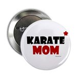 Karate Mom 1 (Cinnamon) Button