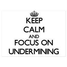 Keep Calm by focusing on Undermining Invitations