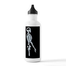 Skeleton in the Shower Sports Water Bottle
