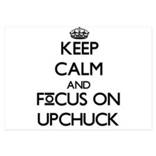 Keep Calm by focusing on Upchuck Invitations