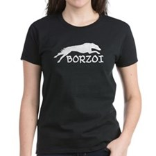 Running Borzoi w/Text Tee