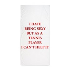 tennis Beach Towel