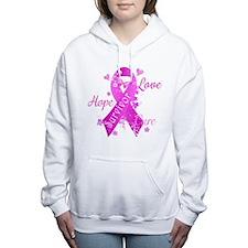 Survivor Love Hope Cure Women's Hooded Sweatshirt