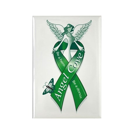 Angel Cove Logo Rectangle Magnet