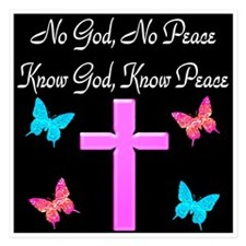 KNOW GOD KNOW PEACE Invitations