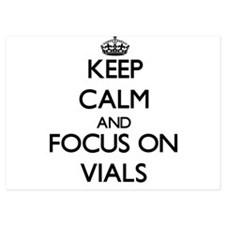 Keep Calm by focusing on Vials Invitations