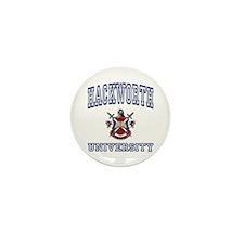 HACKWORTH University Mini Button (100 pack)