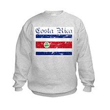 Costa rica Flag Sweatshirt