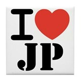 I love JP Tile Coaster
