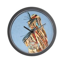 Cute Indian medicine Wall Clock
