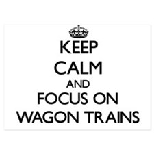Keep Calm by focusing on Wagon Trains Invitations