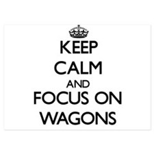 Keep Calm by focusing on Wagons Invitations