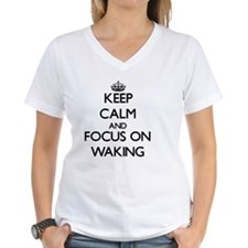 Keep Calm by focusing on Wa Shirt