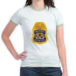 Border Patrol Air Ops Jr. Ringer T-Shirt