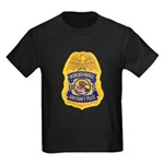 Border Patrol Air Ops Kids Dark T-Shirt