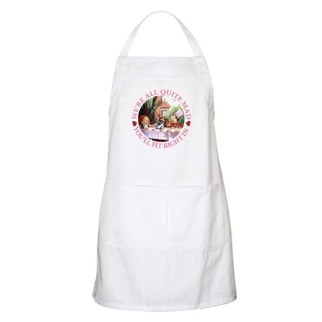 WE'RE ALL MAD - PINK BBQ Apron