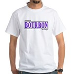New OrleansBourbon St.White T-Shirt