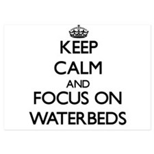 Keep Calm by focusing on Waterbeds Invitations