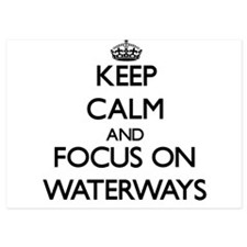 Keep Calm by focusing on Waterways Invitations