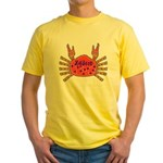 Cajun Zydeco Yellow T-Shirt