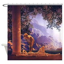Maxfield Parrish Daybreak Nouveau Classical Shower