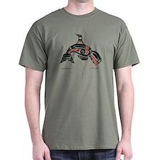 Diving Killer Whale T-Shirt