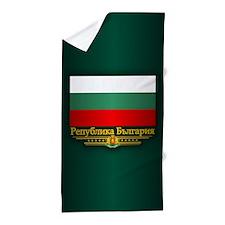 Flag of Bulgaria Beach Towel