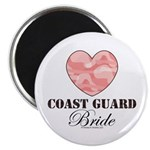 Coast Guard Bride Pink Camo Magnet