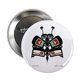 "Tléiloo (Moth) 2.25"" Button (100 pack)"