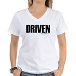 Driven Women's V-Neck T-Shirt