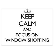 Keep Calm by focusing on Window Shoppi Invitations