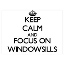 Keep Calm by focusing on Windowsills Invitations