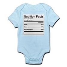 Girl Nutrition Infant Bodysuit