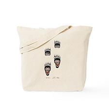 Bear Paws Tote Bag