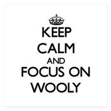 Keep Calm by focusing on Wooly Invitations