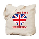 Hepburn, Valentine's Day Tote Bag